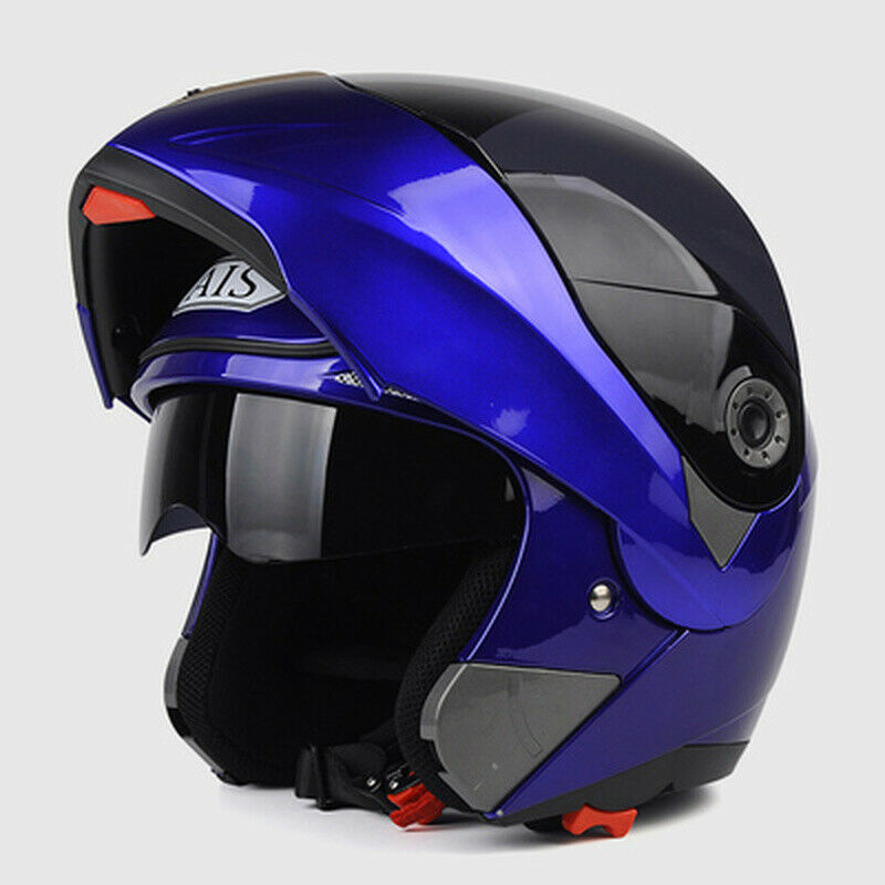 AIS motorcycle helmet Full  face flip up dual lens riding safety helmet unisex  we take customers as our god