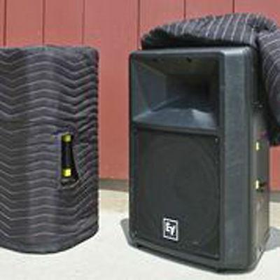 EV Sx300 SxA360 SxA100+ Premium Padded Black Speaker Covers (2) Qty of 1=1 Pair!