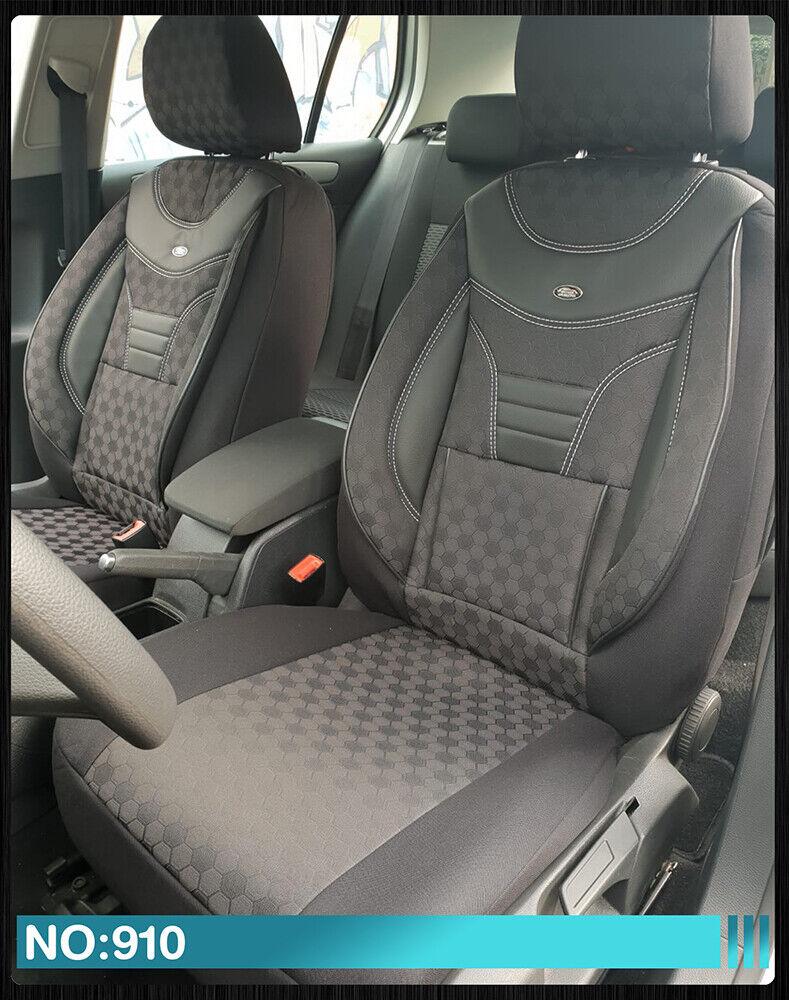 Maß Sitzbezüge Mercedes E-Klasse W212 S212 Fahrer & Beifahrer 910