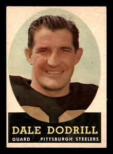 DALE-DODRILL-1958-TOPPS-1958-NO-46-EXMINT-22694