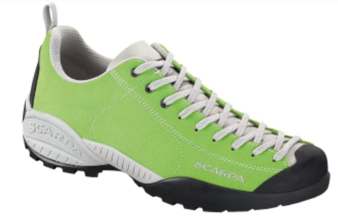 Scarpa Mojito, bright lime - Der legendäre Lifestyle-Schuh für die Freizeit