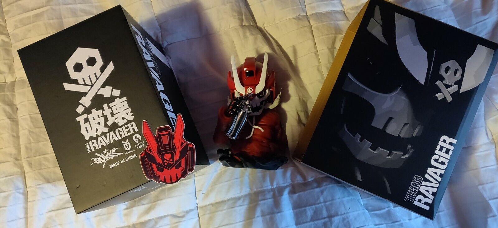 comprar mejor Quiccs TEQ63 Rojo Ravager Autografiado Autografiado Autografiado  mejor opcion