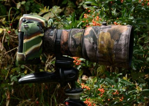 Sigma 300mm f2.8 Dg Hsm Apo Lente de Neopreno Cubierta de protección Bosque Camo