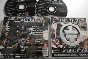 TAKE-THAT-VERY-RARE-GREATEST-HITS-VIDEO-CD-2-DISC-BMG-VIDEO-18-TRACKS-NTSC-PAL