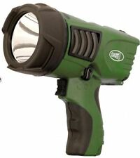Clulite Clu-Briter Rechargeable 600m 200 Lumen LED Hand Pistol Torch in Green