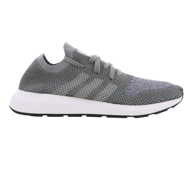 Hommes Adidas Swift Run Pk Gris Running Trainers CG4128
