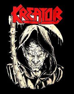 KREATOR-cd-lgo-DEATH-REAPER-Official-SHIRT-Size-XL-new