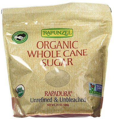 Rapunzel Whole Rapadura Unbleached Unrefined Organic Sugar 2x24oz Pack Of  2