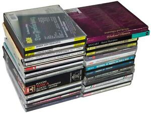 LOT-Of-21-CLASSICAL-CDs-amp-CD-SETS-Mozart-Beethoven-Debussy-Dvorak-Puccini-Mahler