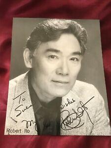 Autogramm-ROBERT-ITO-handsigned-Grosfoto-QUINY-Kanada-USA-Sam-Fujiyama-Original