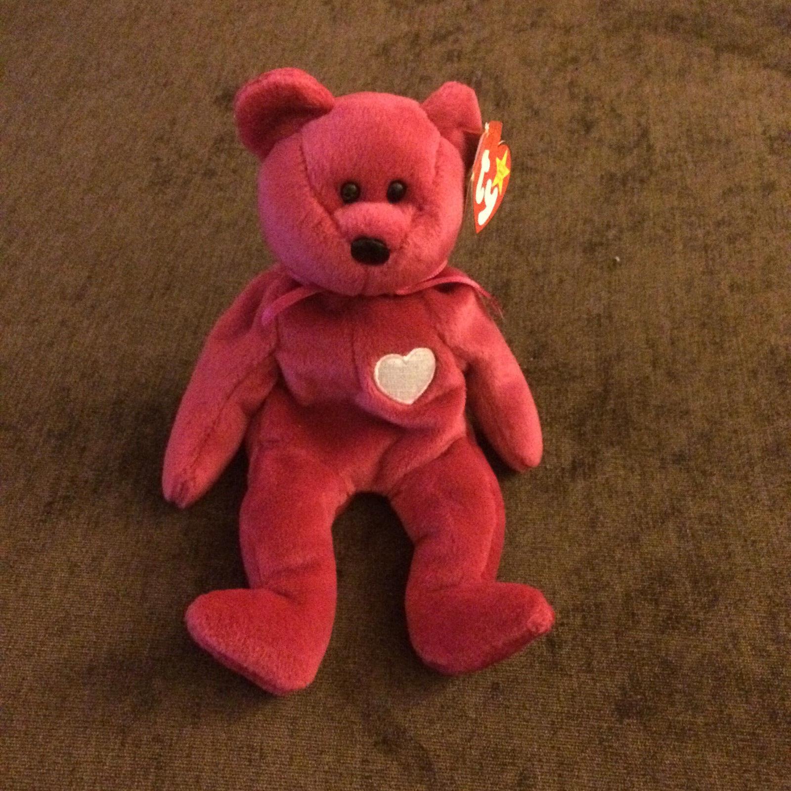 Selten kein siegel & fehler ersten ausgabe valentina bär ty beanie baby