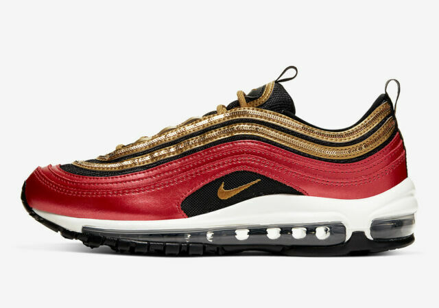 Size 6.5 - Nike Air Max 97 Gold Sequin for sale online | eBay