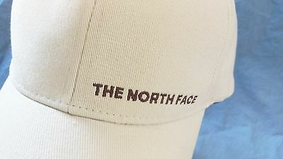 THE NORTH FACE Cap Block Typeface Hat Stretch One Size - RARE