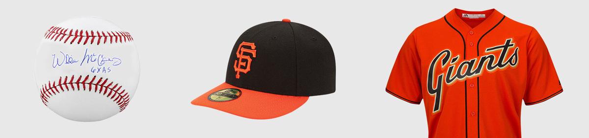 Shop Event San Francisco Giants Authentic fan apparel & collectibles