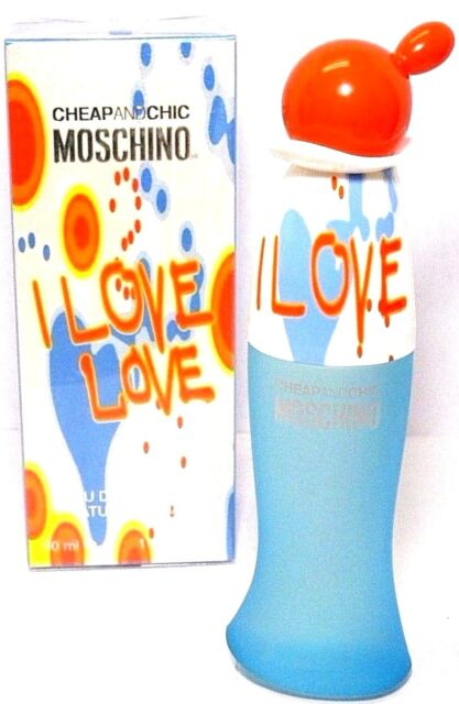 c61ef0a25924f MOSCHINO CHEAP CHIC I LOVE LOVE Eau De Toilette Spray 1.0 Oz   30 ml NEW IN