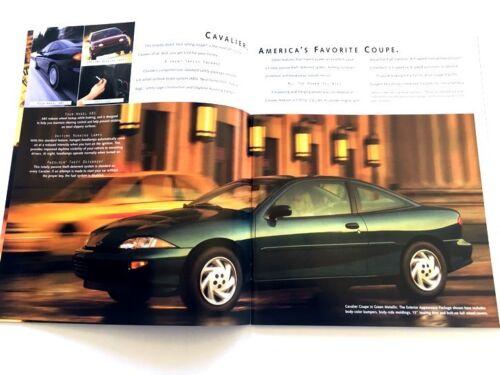 Z24 RS Convertible 1999 Chevrolet Cavalier 34-page Original Car Sales Brochure