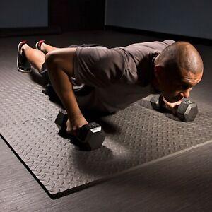 FlooringInc-Diamond-Plate-2-039-x-2-039-x-5-8-034-Interlocking-Foam-Tile-Floor-Gym-Mats