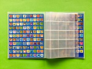 POKEMON-Advance-MAGNET-SammelALBUM-Panini-NINTENDO-Staks-CLUB-Gold-Silver-N64-GB