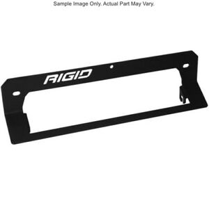 Rigid Industries LED Light Bar Hood Scoop Mount for 17-18 Polaris RZR XP Turbo