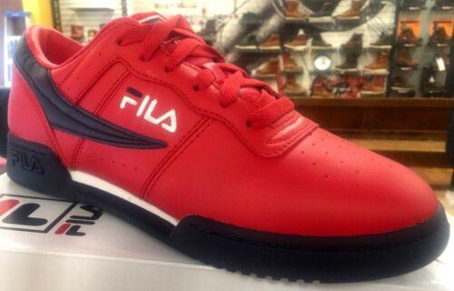 Fila casual stile fitness classico originali Rosso Sneakers Navy Scarpe bianco retrò VUzpSqMG