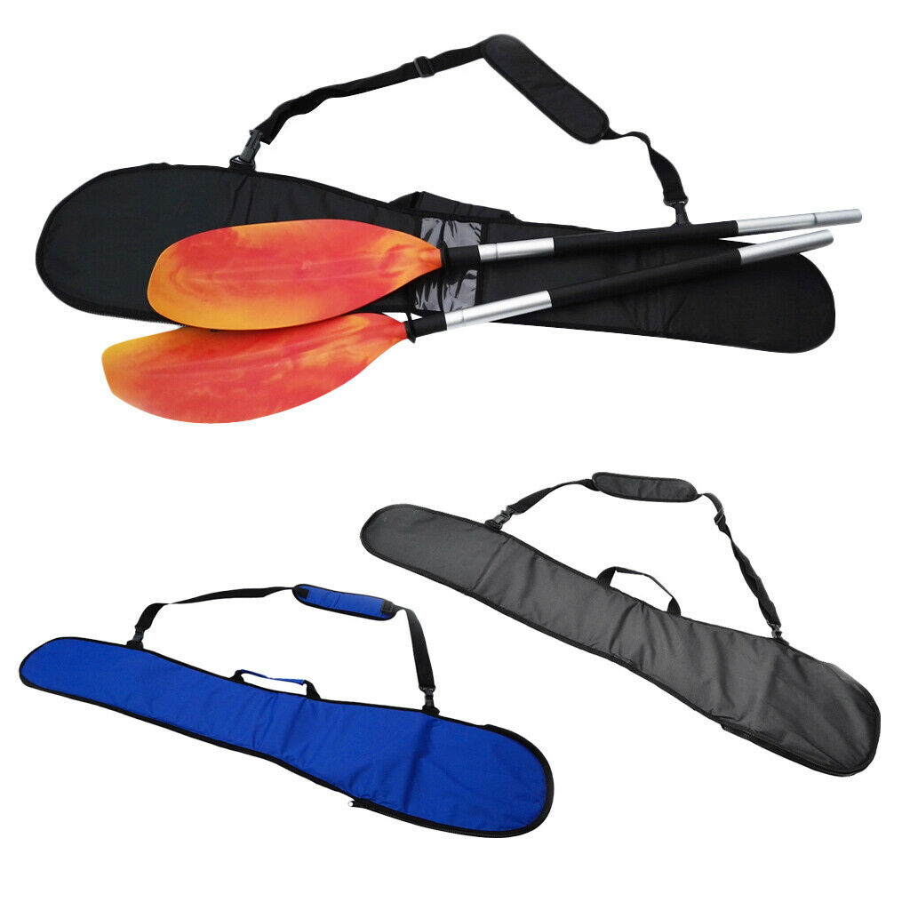 2Pcs Premium Kayak SUP Paddle Bag Predector Holder Accessories Carry Pouch