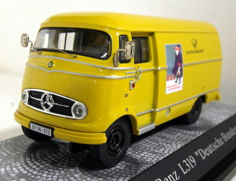 Premium Classixxs 1 43 escala 6271 Mercedes Benz L 319 D Modelo van Deutsche Post