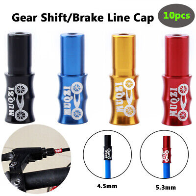 CA 30Pcs Mini Practical Brake Wire End Cap Bike Line Core Cap Cover Bicycle CA