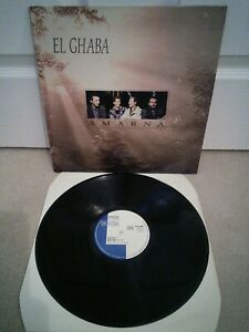 Amarna-El-Ghaba-Vinile-30-5cm-LP-Algerino-Rai-Musica-Francese-Premere-1989