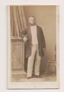 Vintage-CDV-Count-Dimitri-von-Nesselrode-Ehreshoven-1816-1906-Disderi-Photo