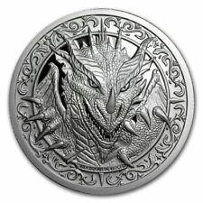 The Destiny Coin 2 - The Dragon - 2 oz .999 Silver BU Round - IN-STOCK!!