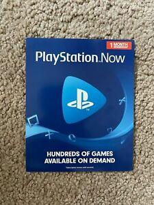 Membresía de 1 meses de suscripción PlayStation ahora en Mano Listo Para Envío