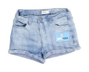 Womens-Garage-Blue-Denim-Shorts-Size-6-L2