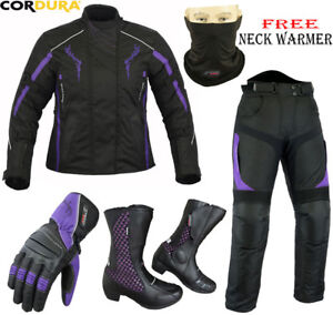 Protective Clothing L LADIES PURPLE SPEED HAWK WOMENS CE MOTORBIKE/MOTORCYCLE SHORT LENGTH TEXTILE JACKET