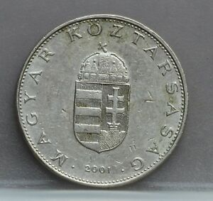 Hongarije-Hungary-10-forint-2001-KM-695