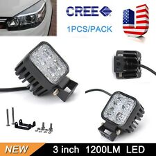 12W LED Work Flood Light Fog Lamp Bar IP67 OffRoad Boat Truck SUV Jeep Car