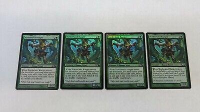 4 Borderland Ranger ~ Green m10 Magic 2010 Mtg Magic Common 4x x4