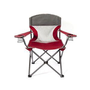 Mac Sports Heavy Duty Big Comfort Xl Folding Quad Outdoor