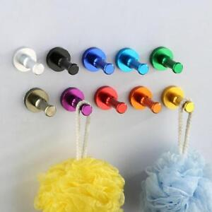 a2e4e41935b DIY Towel Wall Hook Bathroom Kitchen Door Clothes Key Hat Bag Hanger ...