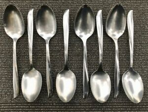 """Oneida TWIN STAR Set of 2 Serving Spoons 8 1//4/"""" Community Stainless Flatware"""