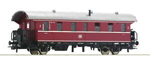 Roco-H0-74261-Personenwagen-034-Donnerbuechse-034-2-Klasse-der-DB-NEU-OVP