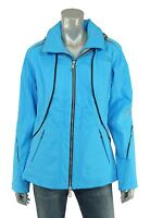 North Face Blue Bibi Leather Trim Softshell Insulated Ski Jacket M $699