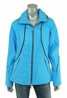 North Face Blue Bibi Leather Trim Softshell Insulated Ski Jacket M $699 on sale
