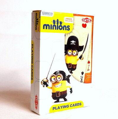 Minionki Karty do gry dla dzieci i dorosłych. Playing Cards Minions