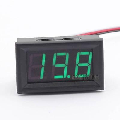 Mini  DC 0-30V Voltmeter LED Panel 3-Digital Display Volt Voltage Meter Mudule