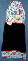 Angry Birds Easter Black Holiday Hanging Kitchen Fridge Hand Towel 1004