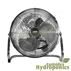Ram floor fan chrome metal air circulator movement for 14 inch chrome floor standing fan