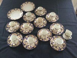 Samuel-Radford-Radfordian-Antique-Fine-Bone-China-Tea-Set-36-pieces