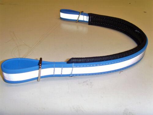 Haute Visibilité Fluorescent//Réflective Front bande bleu pâle Perfeq