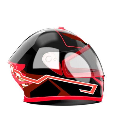 Motorcycle Helmet El Cold Light Helmet Light Strip Night Signal Luminous Mo T8M6
