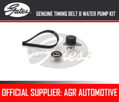 GATES TIMING BELT AND WATER PUMP KIT FOR PEUGEOT 205 II 1.1 60 BHP 1989-98